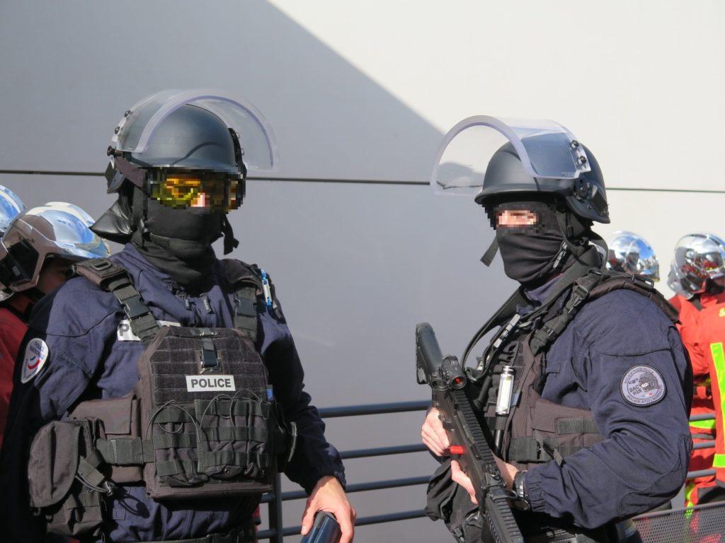 Formation de policiers au sein de Lagence164